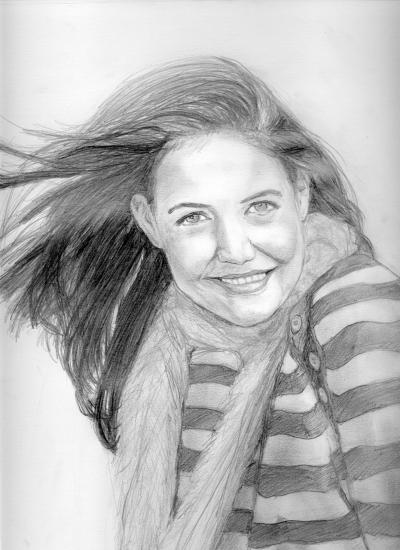 Katie Holmes por Dygo
